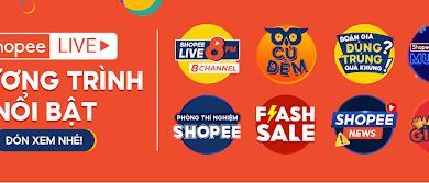 Shopee Live: Cơ hội độc quyền săn được voucher miễn phí sử dụng Điện - Nước một năm, duy nhất ngày 10.10!